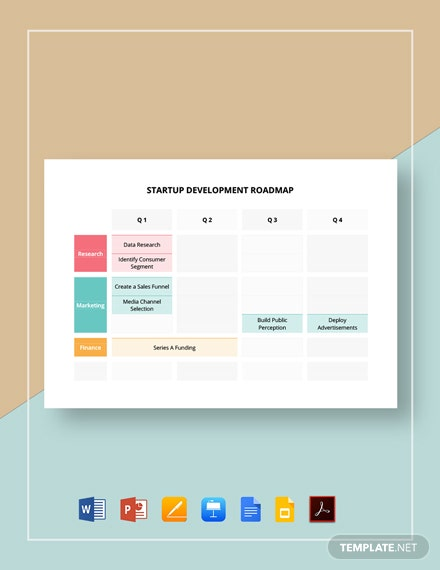 Startup Development Roadmap Template