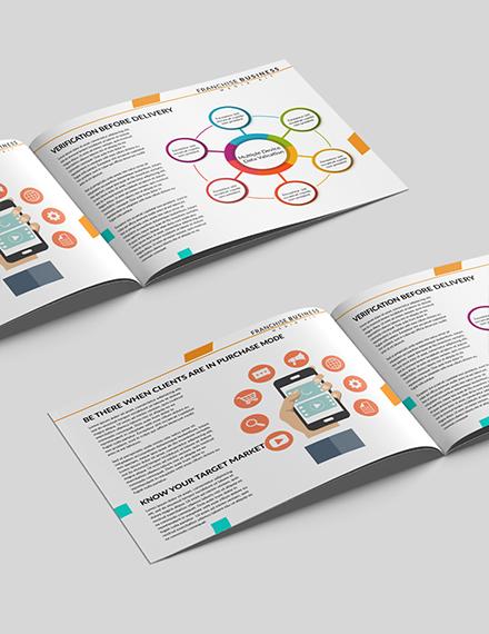 Editable Franchise Business Media Kit Template