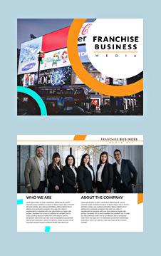 Franchise Business Media Kit Template