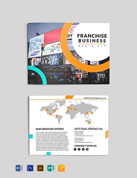 Free Franchise Business Media Kit Template