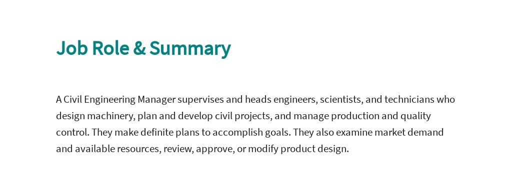Free Civil Engineering Manager Job Description Template 2.jpe