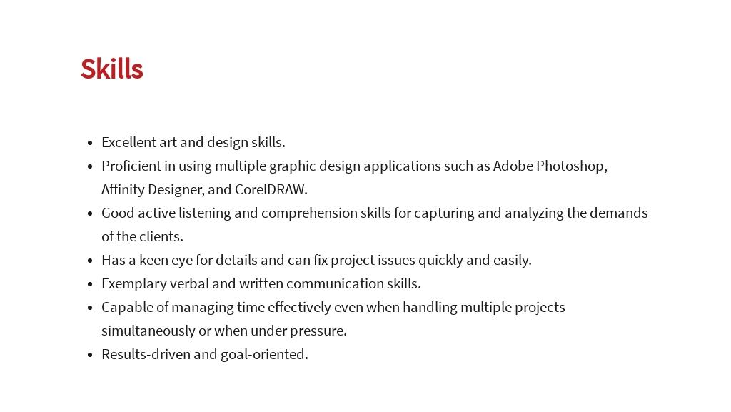 Free Freelance Graphic Artist Job Description Template 4.jpe
