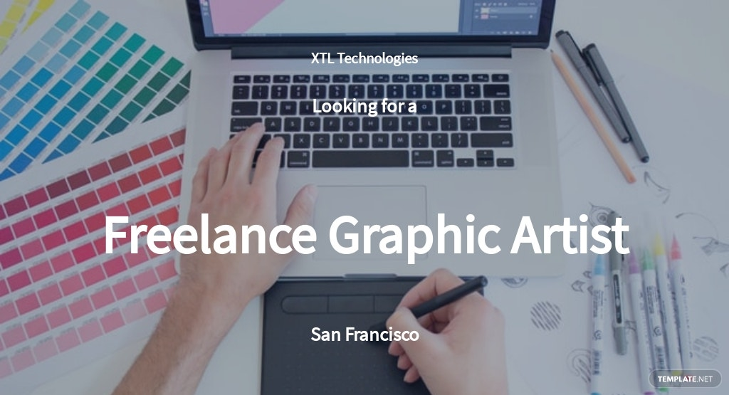 Freelance Graphic Artist Job Description Template