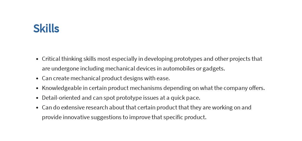 Free Mechanical Engineering Internship Job Ad/Description Template 4.jpe