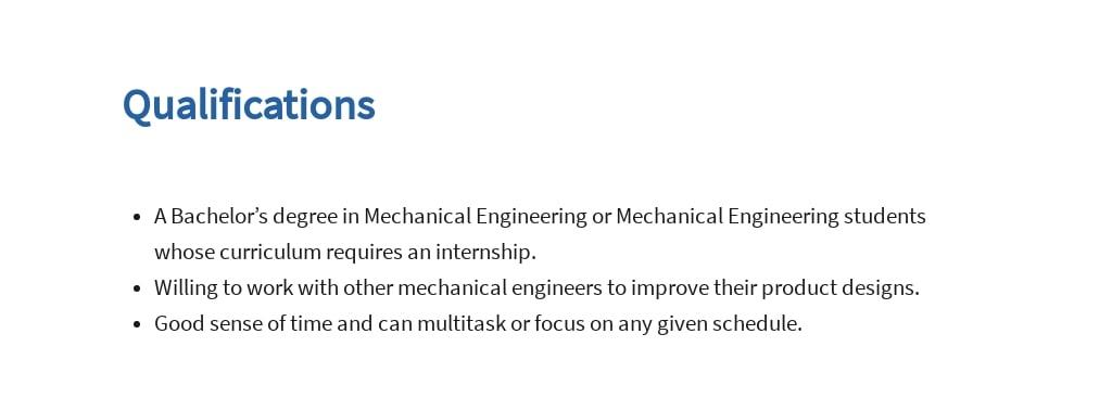 Free Mechanical Engineering Internship Job Ad/Description Template 5.jpe