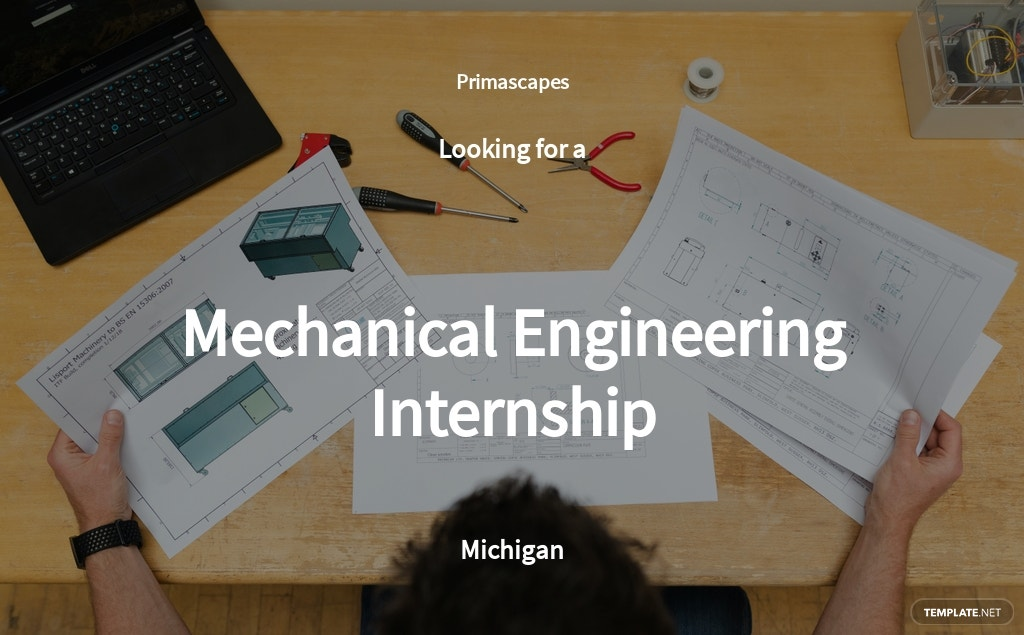 Free Mechanical Engineering Internship Job Ad/Description Template.jpe