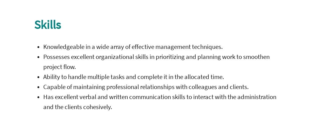 Free Engineering Executive Job Ad/Description Template 4.jpe