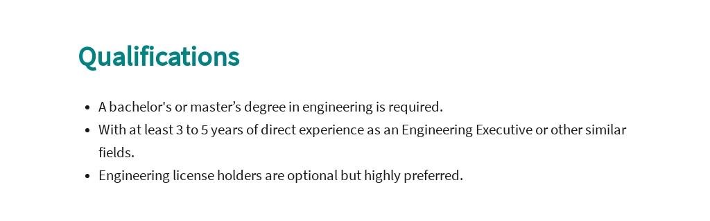 Free Engineering Executive Job Ad/Description Template 5.jpe
