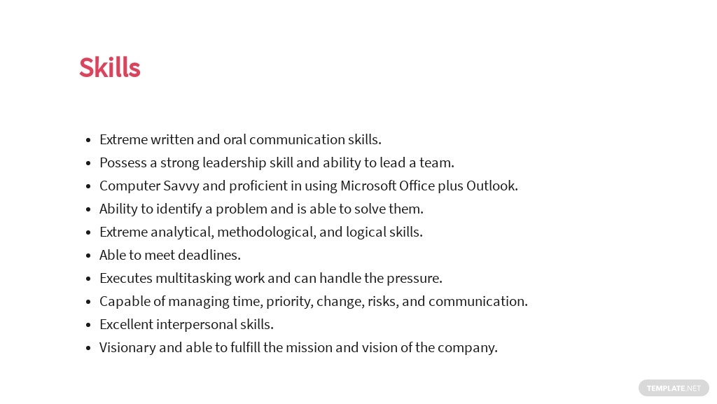 Free Freelance Project Manager Job Ad and Description Template 4.jpe