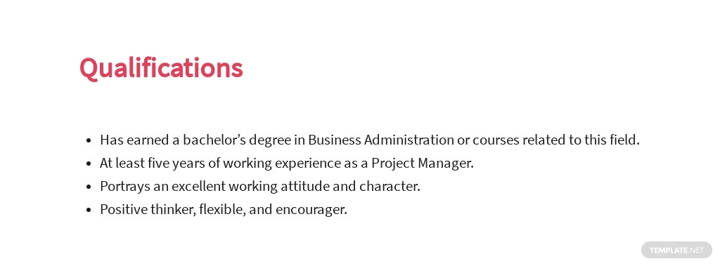 Free Freelance Project Manager Job Ad and Description Template 5.jpe