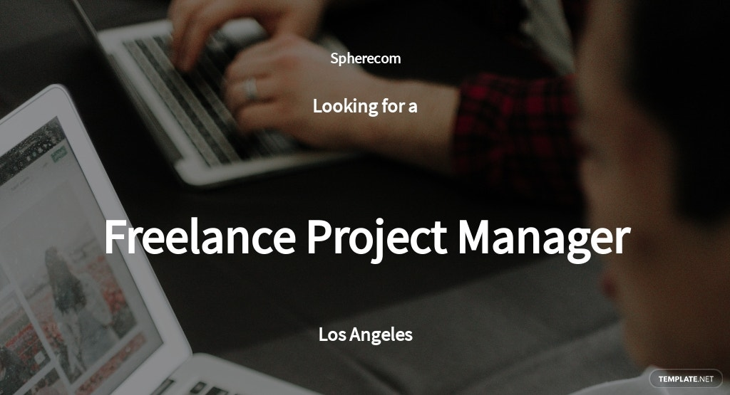 Free Freelance Project Manager Job Ad and Description Template.jpe