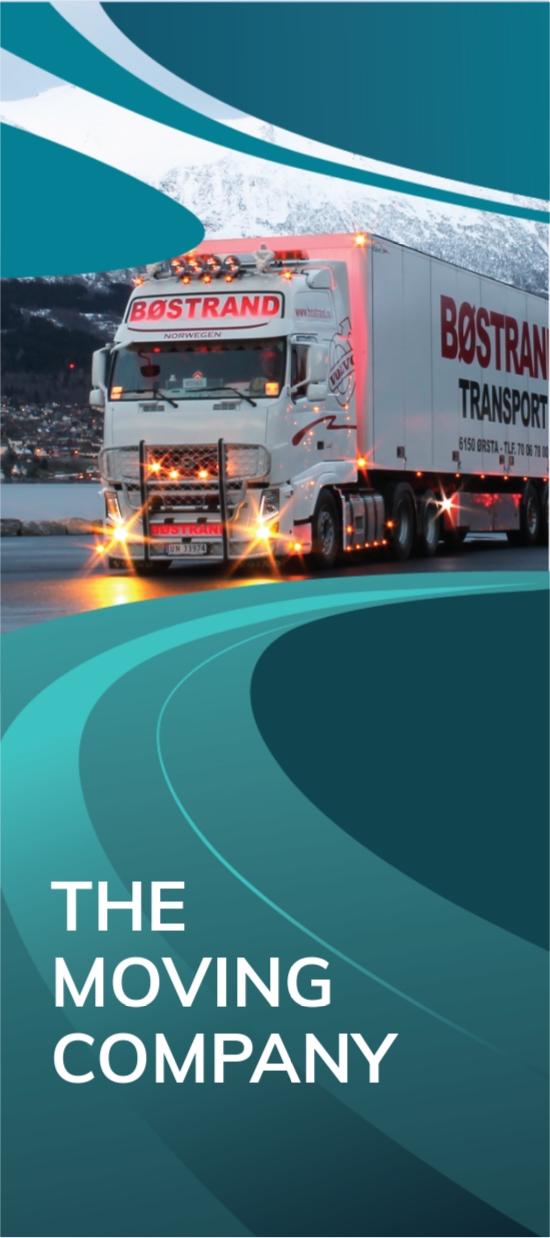 Trucking Logistics DL Card Template