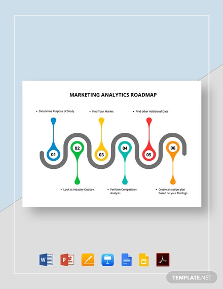 Marketing Analytics Roadmap Template