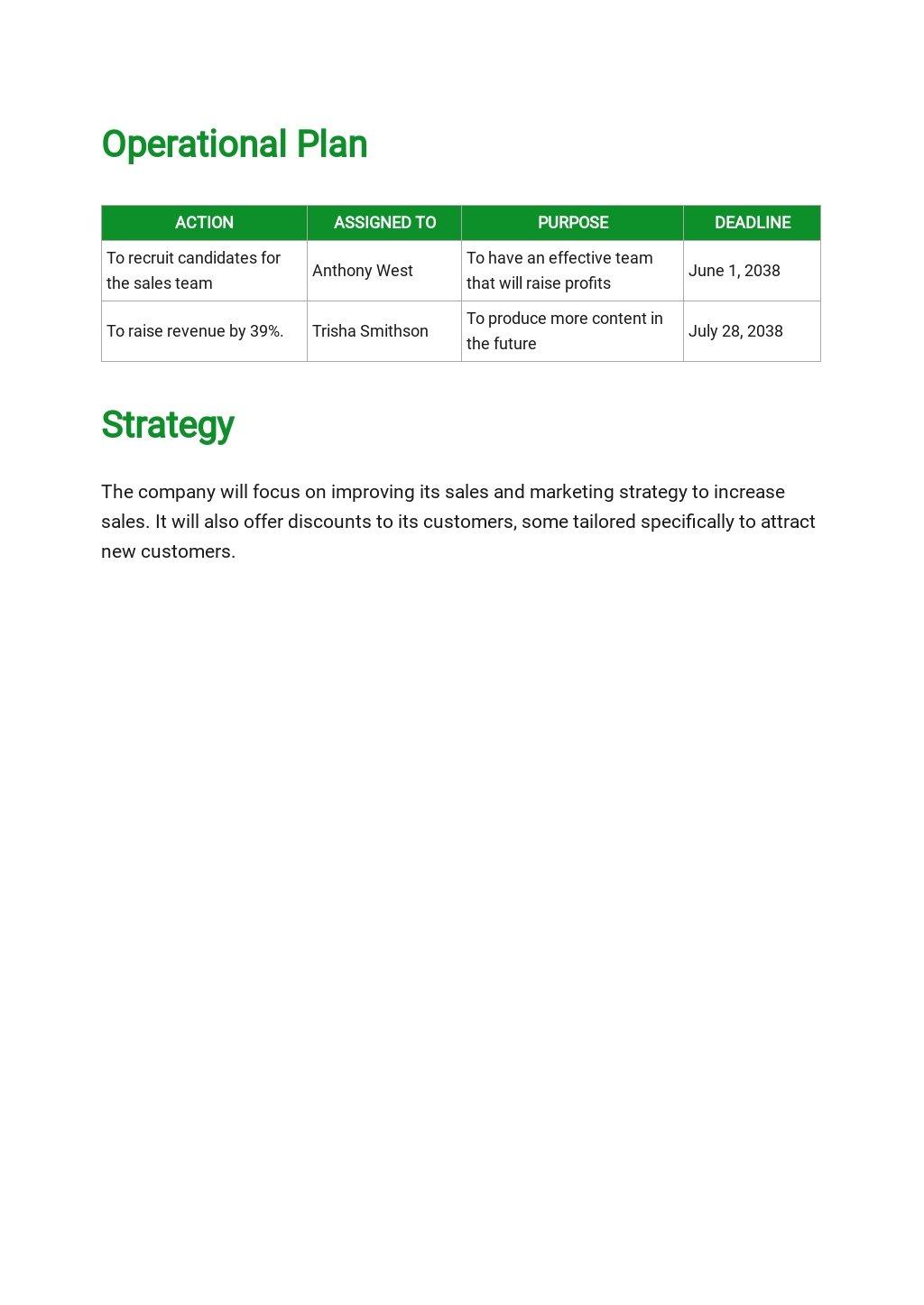 Free Business Operational Plan Template 2.jpe