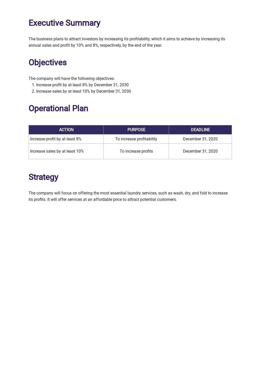 Free Operational Plan Template 1.jpe