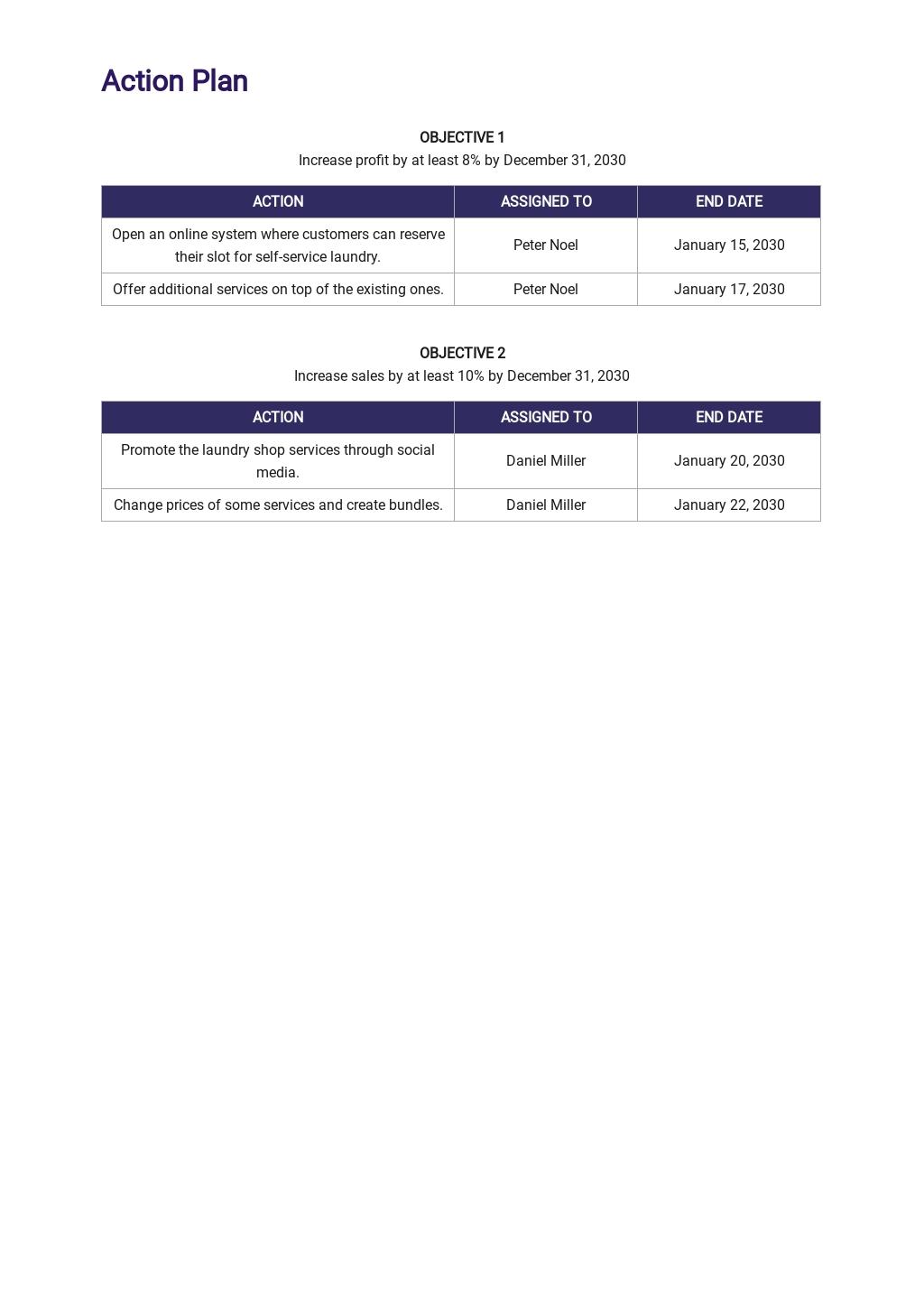 Free Operational Plan Template 3.jpe