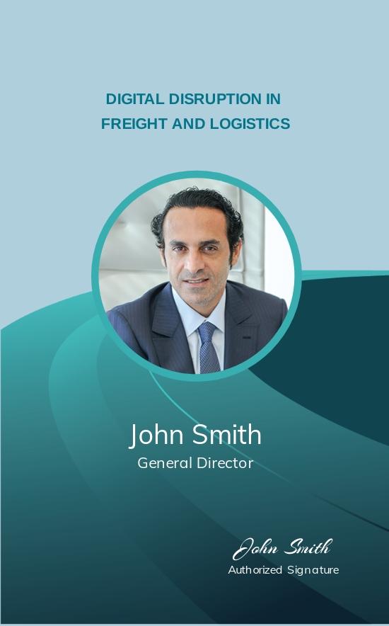 Trucking Logistics ID Card Template