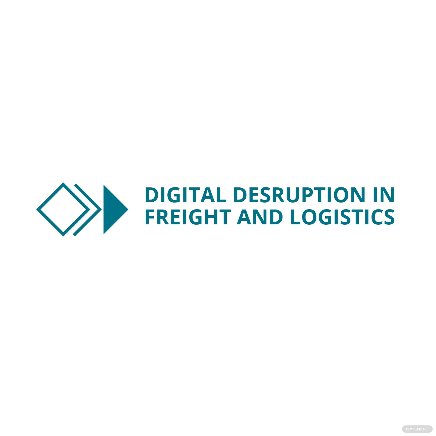 Trucking Logistics Logo Template