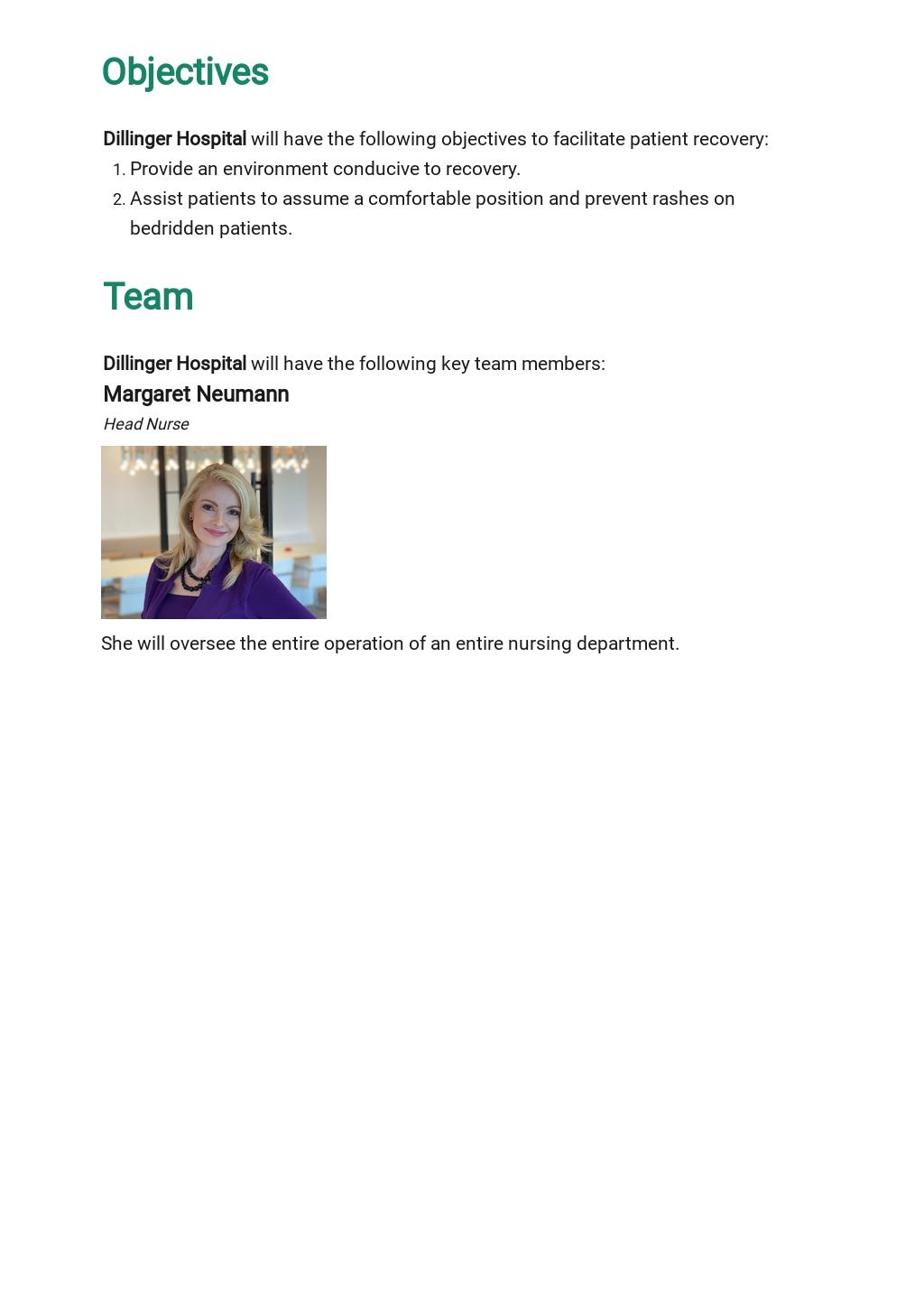 Blank Nursing Care Plan Template [Free PDF] - Google Docs, Word, Apple Pages, PDF