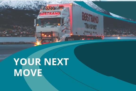Trucking Logistics Post Card Template