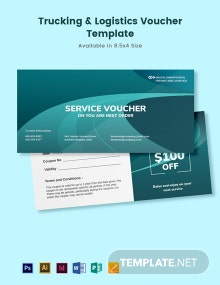 Trucking Logistics Voucher Template
