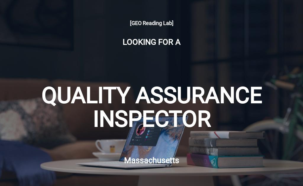 Free Quality Assurance Inspector Job Description Template.jpe