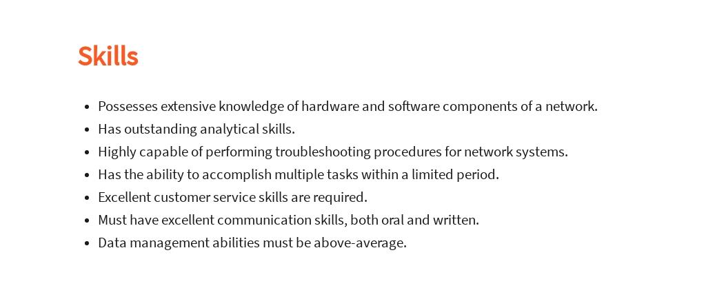 Free Network Technician Job Ad/Description Template 4.jpe