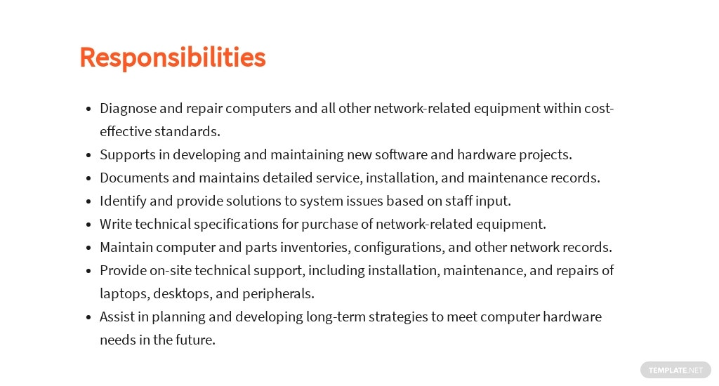 Free Computer Hardware Technician Job Ad/Description Template 3.jpe