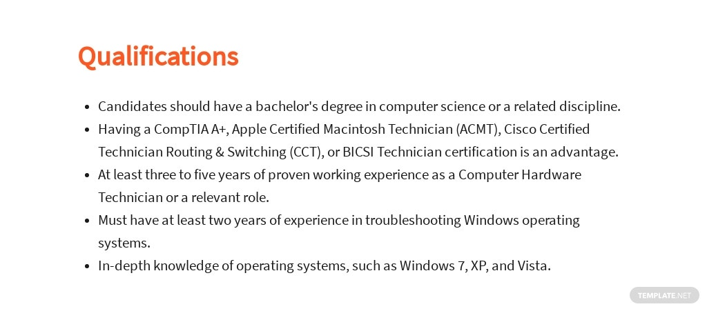 Free Computer Hardware Technician Job Ad/Description Template 5.jpe