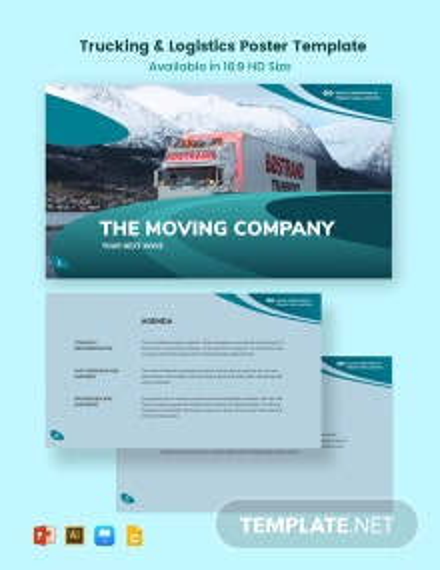 Trucking Logistics Presentation Template