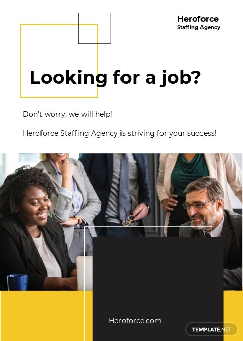 Staffing Agency Announcement Template