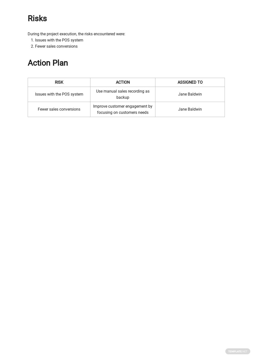 Free Weekly Sales Activity Report Template 3.jpe