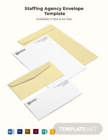 Staffing Agency Envelope Template