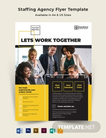 Staffing Agency Flyer Template