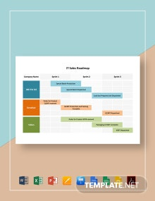 IT Sales Roadmap Template
