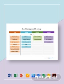Free Simple Event Management Roadmap Template