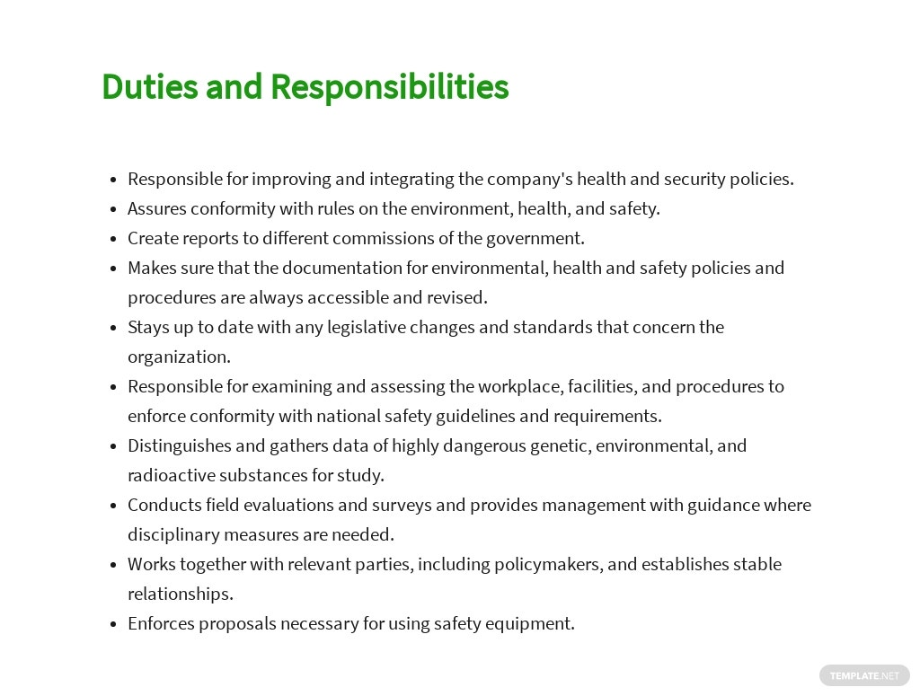 Free Environmental Health And Safety Manager Sample Job Description Template 3.jpe