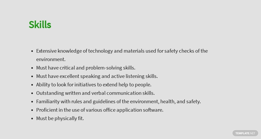 Free Environmental Health And Safety Manager Sample Job Description Template 4.jpe