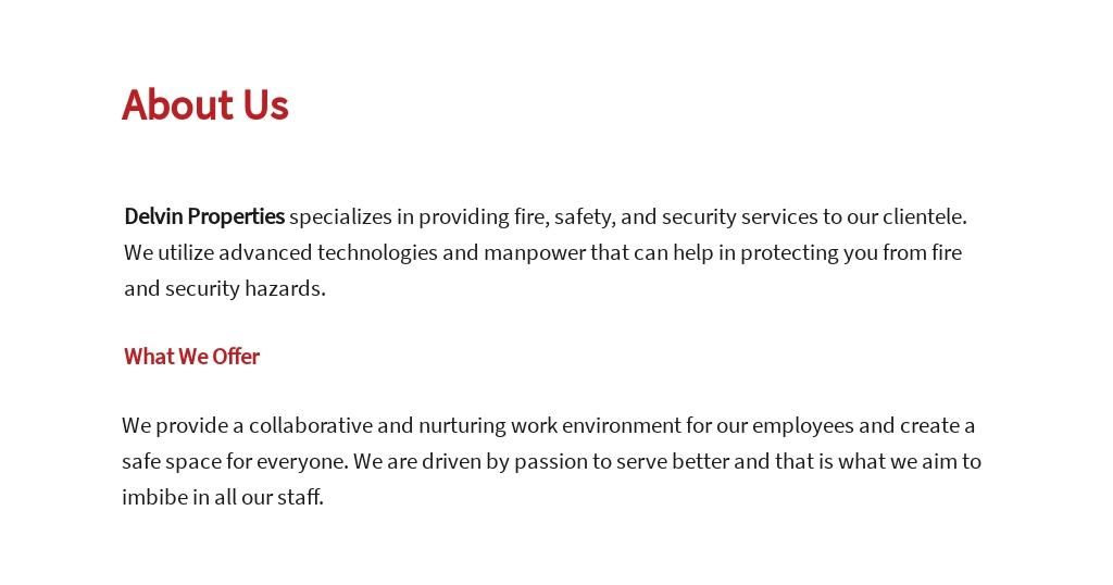 Free Fire Safety Specialist Job Ad/Description Template 1.jpe