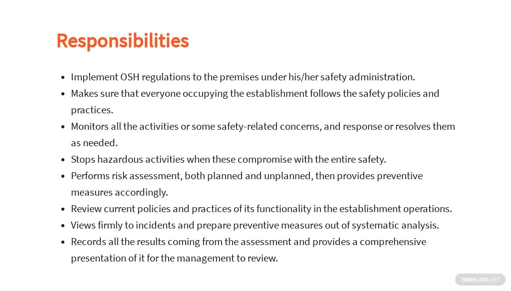 Free Safety Officer Job Description Template 3.jpe