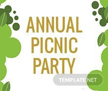 company picnic template