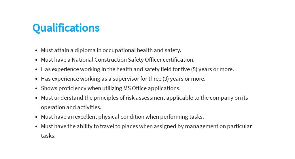 Free Safety Supervisor Job Description Template 5.jpe