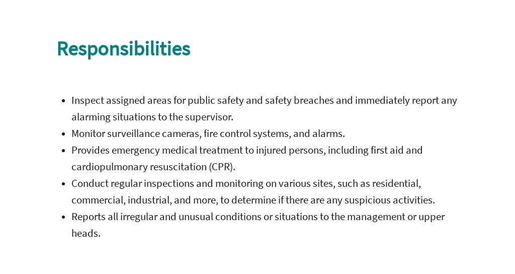 Free Public Safety Officer Job AD/Description Template 3.jpe