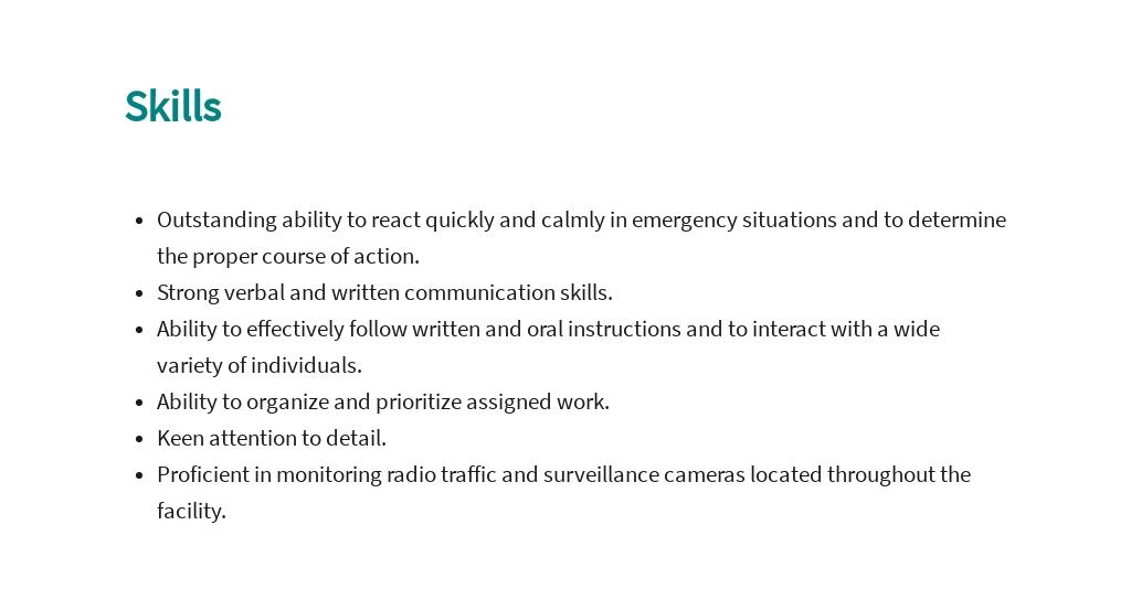 Free Public Safety Officer Job AD/Description Template 4.jpe
