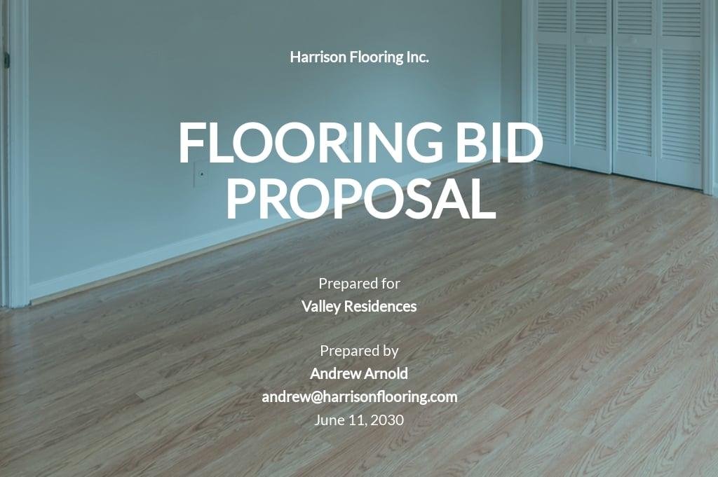 Flooring Bid Proposal Template.jpe
