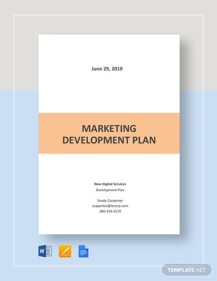 Marketing Development Plan