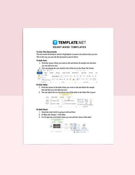 sample SWOT Analysis Template guide