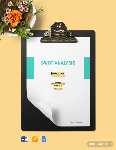 free construction simple Swot Analysis