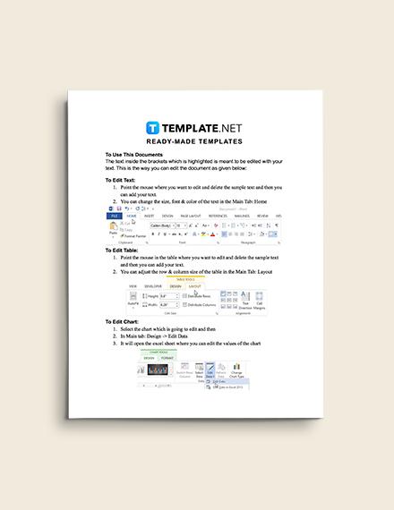 Construction Communication Plan editable