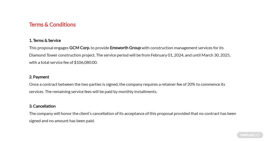 Simple Construction Management Proposal Template 8.jpe